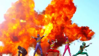 Power Ranger Dino Charge | Rangers vs Cavity - Chase con dolor de diente - Capitulo 6