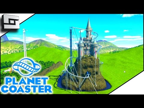 CASTLE COASTER! - Planet Coaster Gameplay #10 | Sl1pg8r