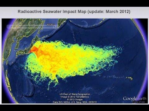 April 11, 2011, Nuclear Radiation from Fukushima, Japan