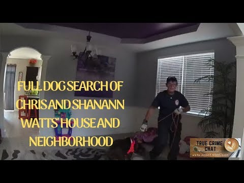 Chris Watts House Dog Search and Neighborhood Search