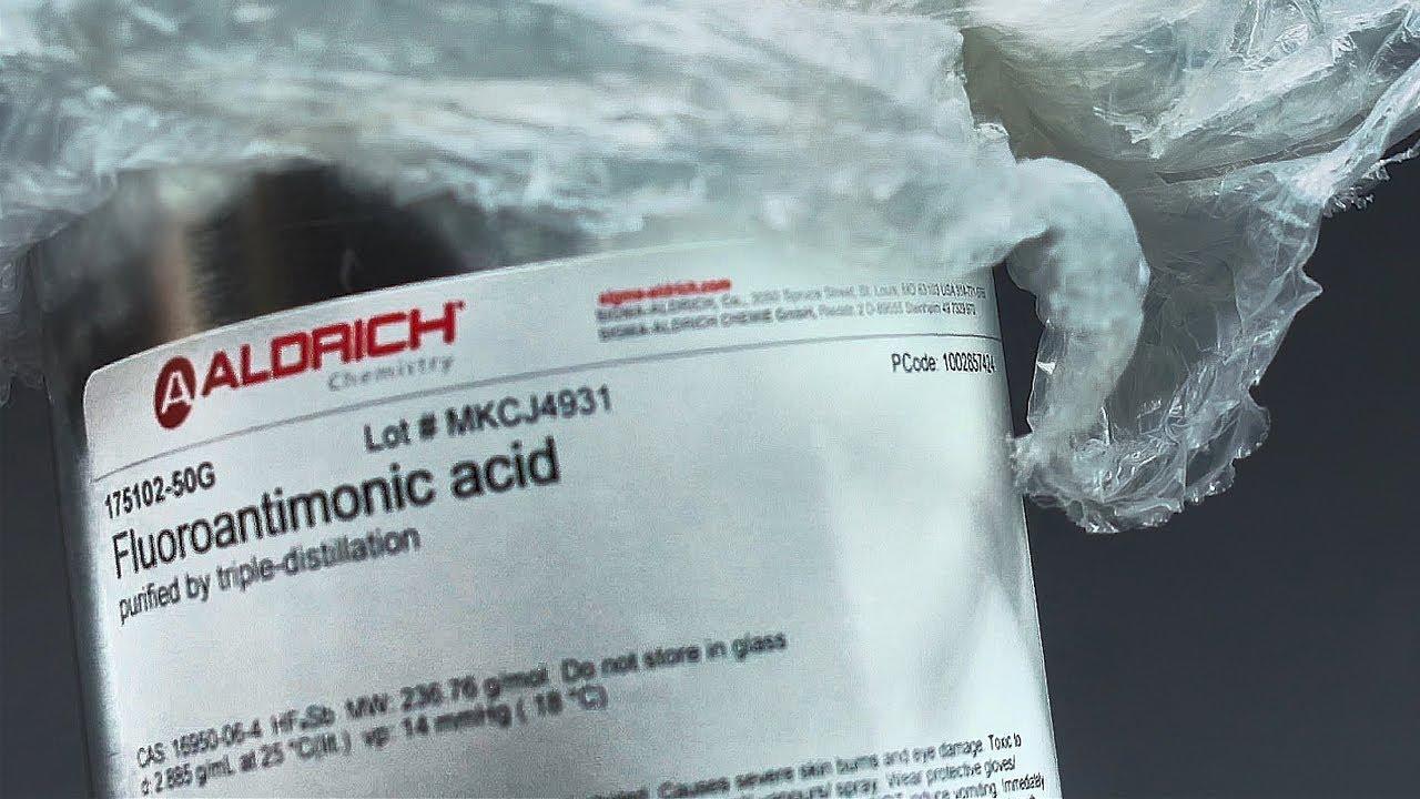 I got Fluoroantimonic acid⚠️ I need your suggestions! - YouTube