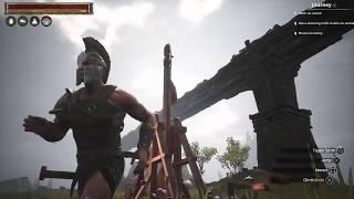 Conan exiles new uses for a trebuchet