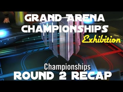 Grand Arena Championships (Exhibition) Round 2 Recap || Star Wars Galaxy of  Heroes SWGOH