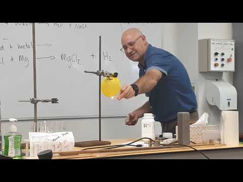 Magnesium And Hydrochloric Acid Reaction Hydrogen Explosion