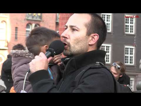 "Occupy Copenhagen, ""Today we tell the banks: You shall fear us"" - speech 22 of October [English]"