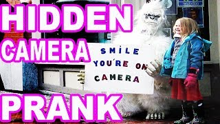 Yeti In Real Life - PRANK - Smile You're on Camera
