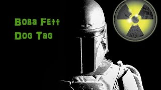 Boba Fett Dog Tag