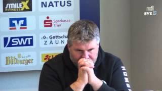 SVE TV: SV Eintracht Trier 05 - FC 08 Homburg Pressekonferenz