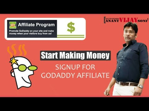 How to Signup for Godaddy Affiliate Program & Start Making Money