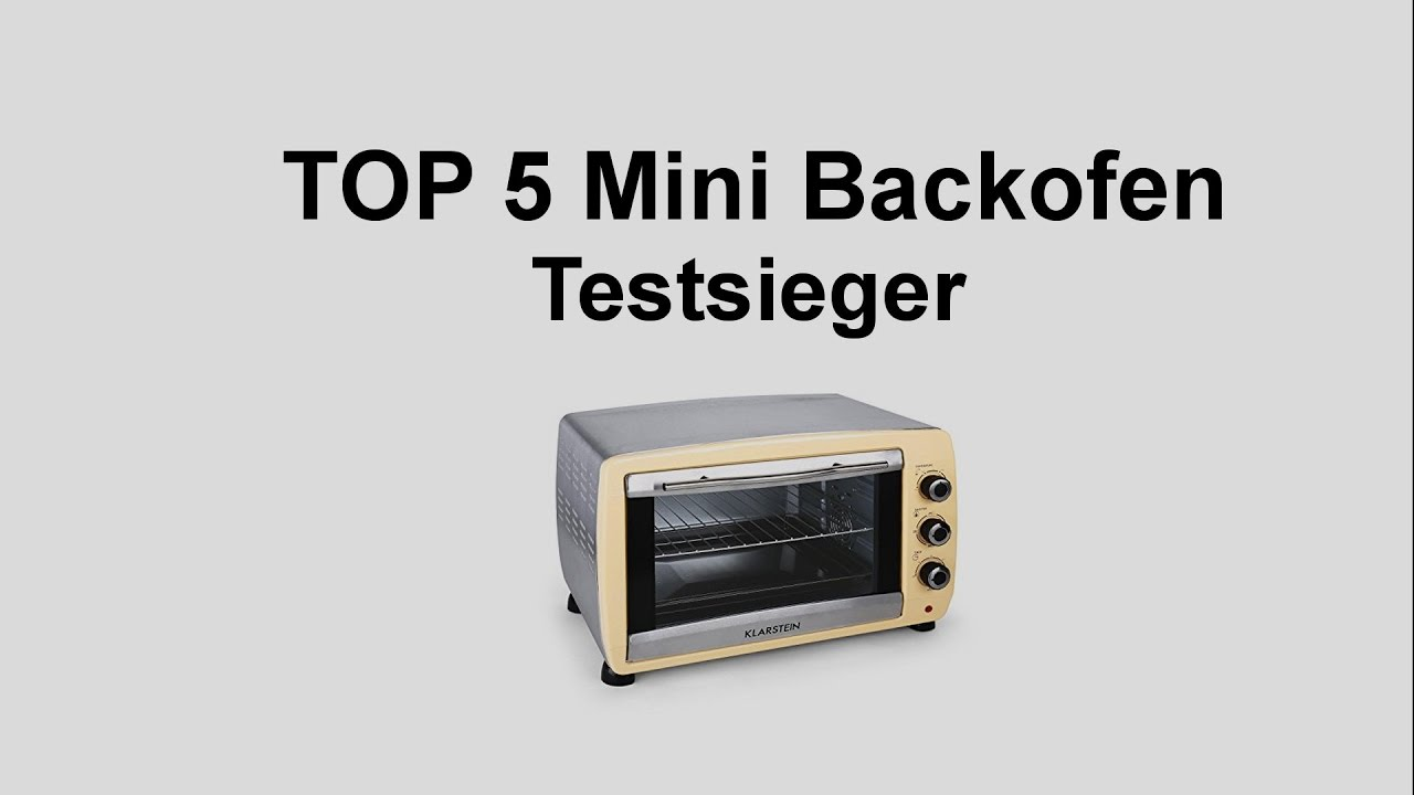 Top 5 mini backofen testsieger mini backofen test for Backofen ma e