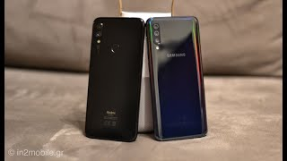 Xiaomi Redmi Note 7 VS Samsung Galaxy A50 [Greek]
