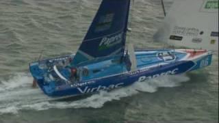 Transat Jacques Vabre 2011: Bon départ, conditions musclées!