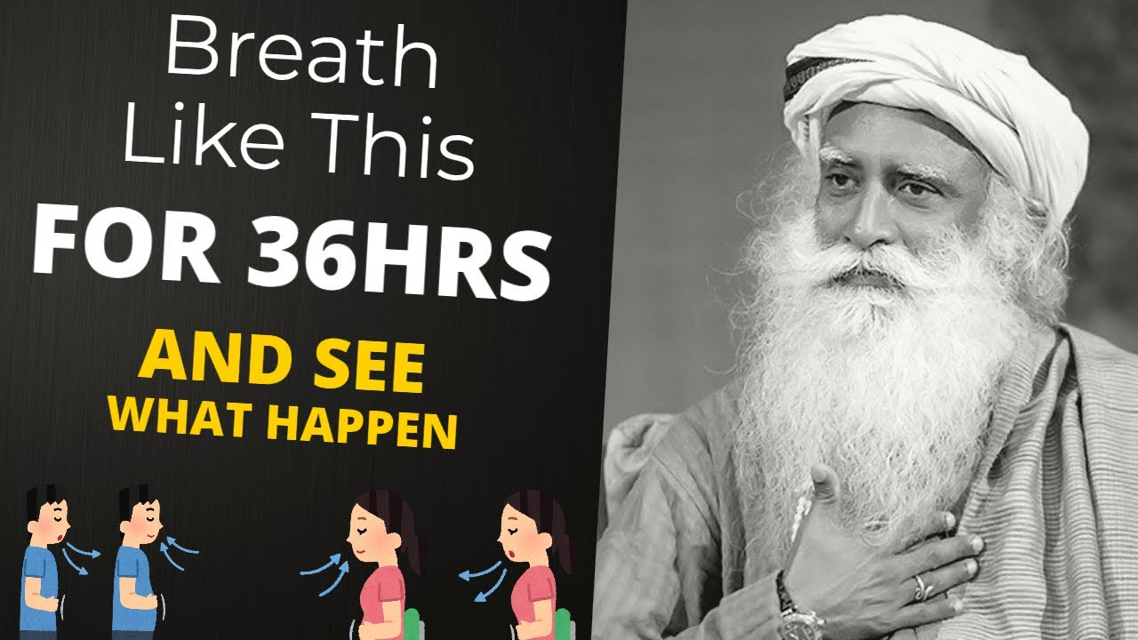 Download Breath Like This For 36 Hours And See What Happen | Sadhguru On Conscious Breathing