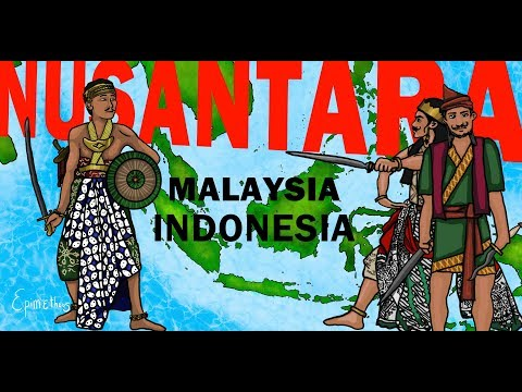 Indonesia Malaysia History of Nusantara explained in 9 minutes