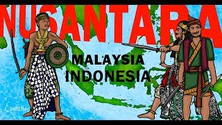 Indonesia Malaysia History of Nusantara explained in 9 minutes - Stafaband