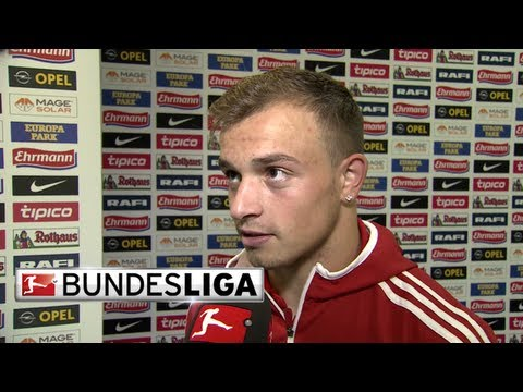 Shaqiri, Hanke and Kroos - Post Match Interview