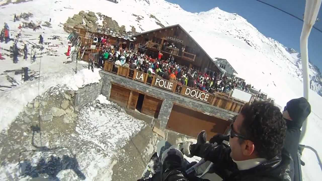 La Folie Douce Val Thorens April 2011 Youtube