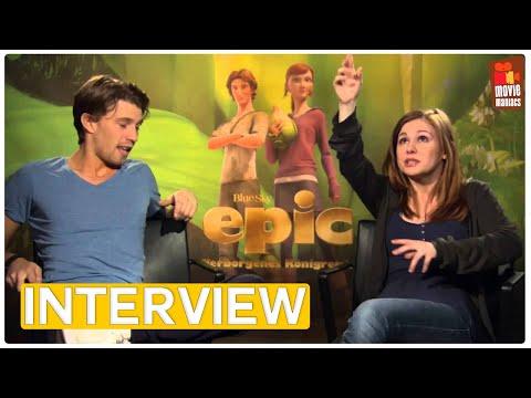 Epic | Josefine Preuß und Raul Richter EXKLUSIVES Interview (2013)