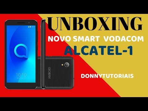 UNBOXING NOVO SMART DA VODACOM ALCATEL1  (5033G)