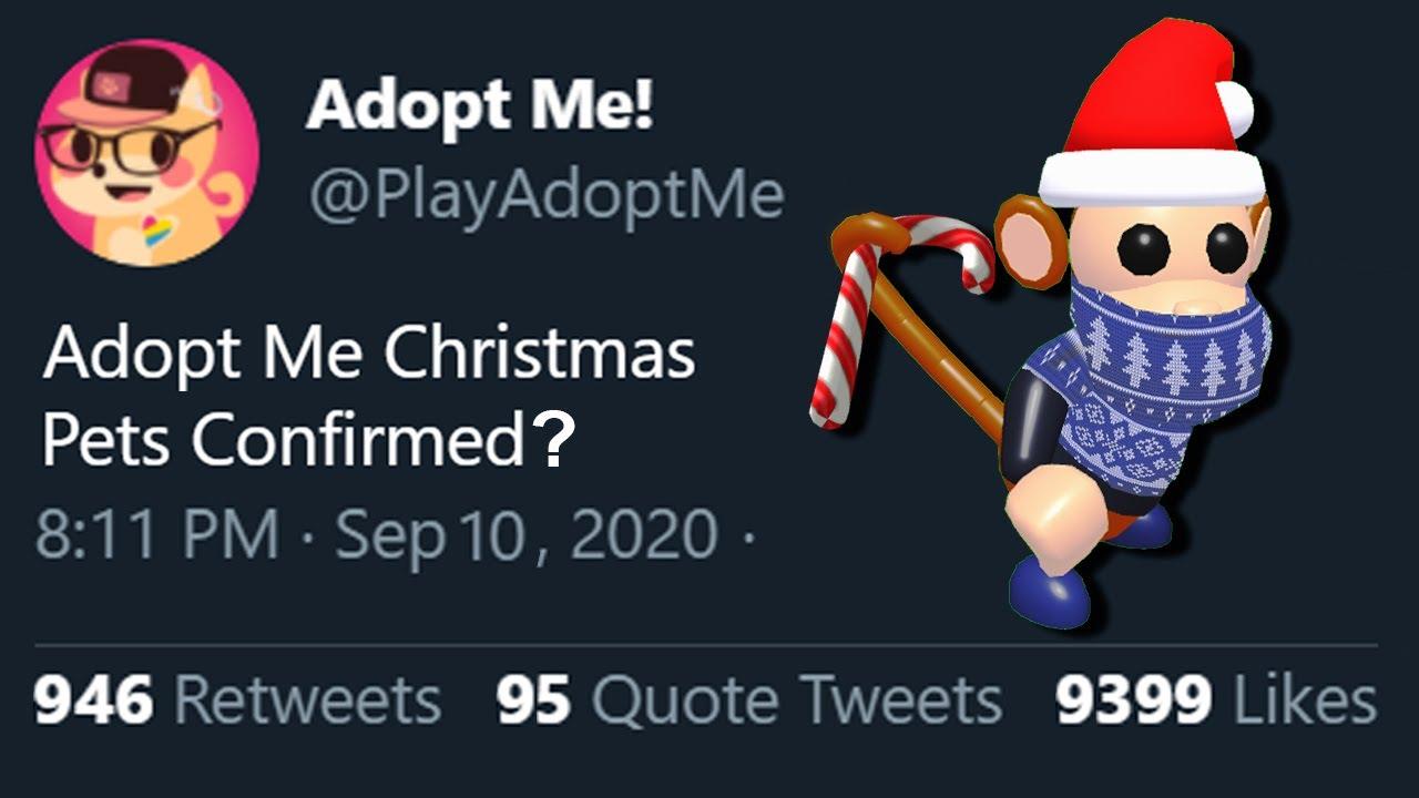 Christmas Near Me 2020 NEW* Christmas 2020 Pets Coming To Adopt Me! Adopt Me Pet Concepts