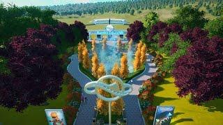 Planet Coaster Entrance Build Time Lapse