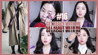 🌹Get ready with me#16. 머리 염색, 미술, 대학, 일상 얘기 잔뜩🌹 | WOORIN