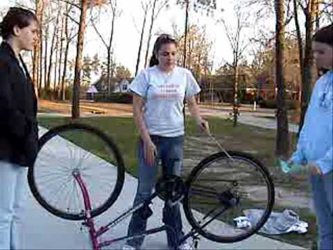 Heather and friends Wheel and Axle video for Laurence Manning.