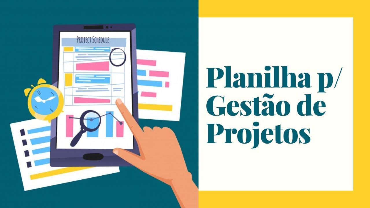 Planilha Gest 227 O De Projetos Exceleasy Com Br Youtube