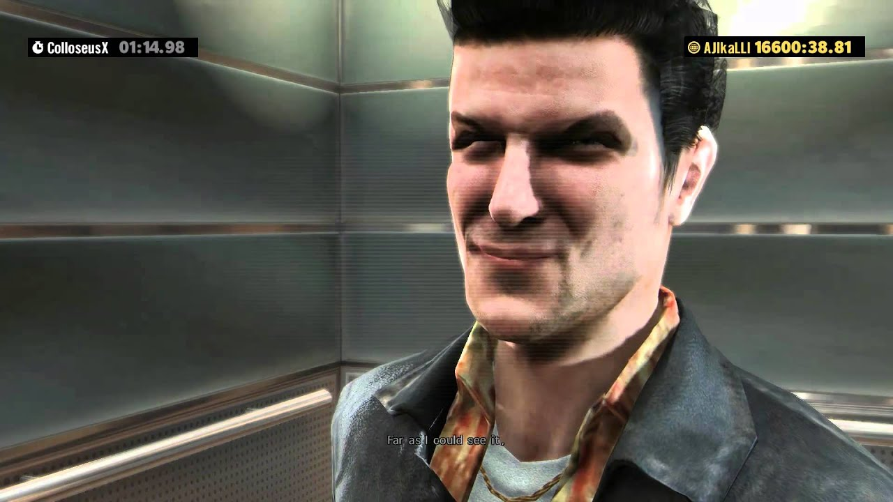 The Original Max Payne Character In Max Payne 3 Youtube