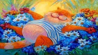 Коты в живописи художника Антона Горцевича