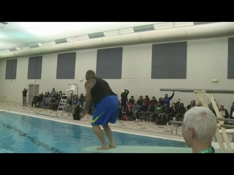 Newly renovated pool opens at Muskegon Heights Academy