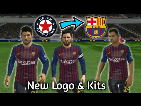 How To Import Fc Barcelona Logo And Kits In Dream League Soccer 2018 ● No Root