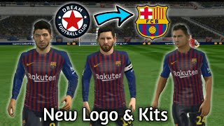 Welcome everyone to our channel gametube360. this video is about how import fc barcelona 2018-2019 logo and kits in dream league soccer 2018 full tutorial...