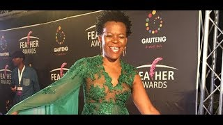 Zodwa Wabantu makes the Feather Awards unforgettable