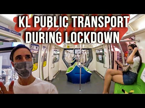 Malaysia Lockdown: Transport in Kuala Lumpur is better than London....   2020 Vlog