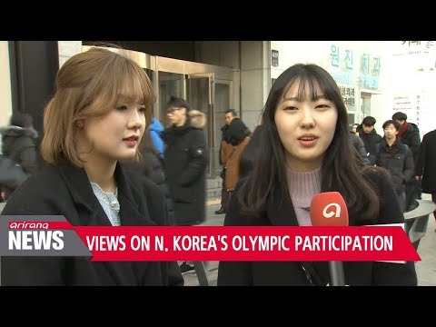 South Koreans backlash on Pyongyang's participation in the PyeongChang Olympics