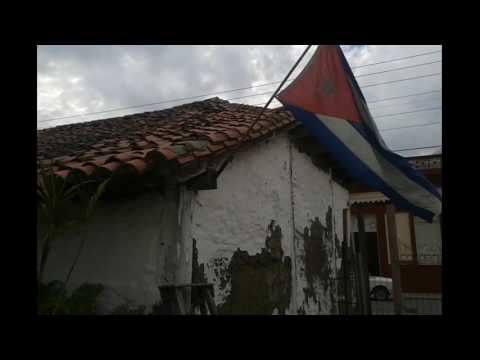 American Tourist Visits Oldest House in Holguin, Cuba - Made of Mud - People to People Tour