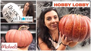 FALL 2019 DECOR PREVIEW! Michaels | Hobby Lobby | At Home | collab w/ Autumn First Babe!