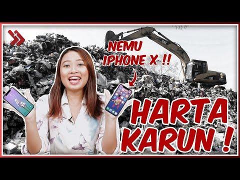 ANJAY! Penemuan iPhone X di Tempat Sampah!