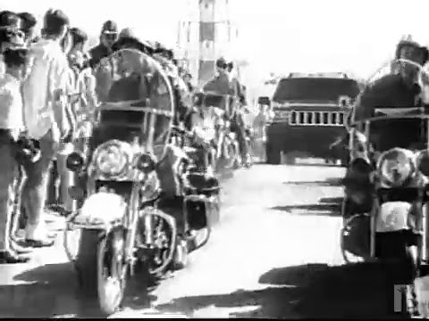"""1996 Jeep """"Beatles Footage"""" B&W Commercial"""