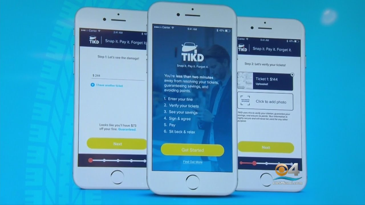Speeding Ticket App >> New Traffic Ticket App Tikd Has Some Ticked Off