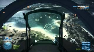 Battlefield 3: Su-35 Flanker Jet Gameplay On Wake Island