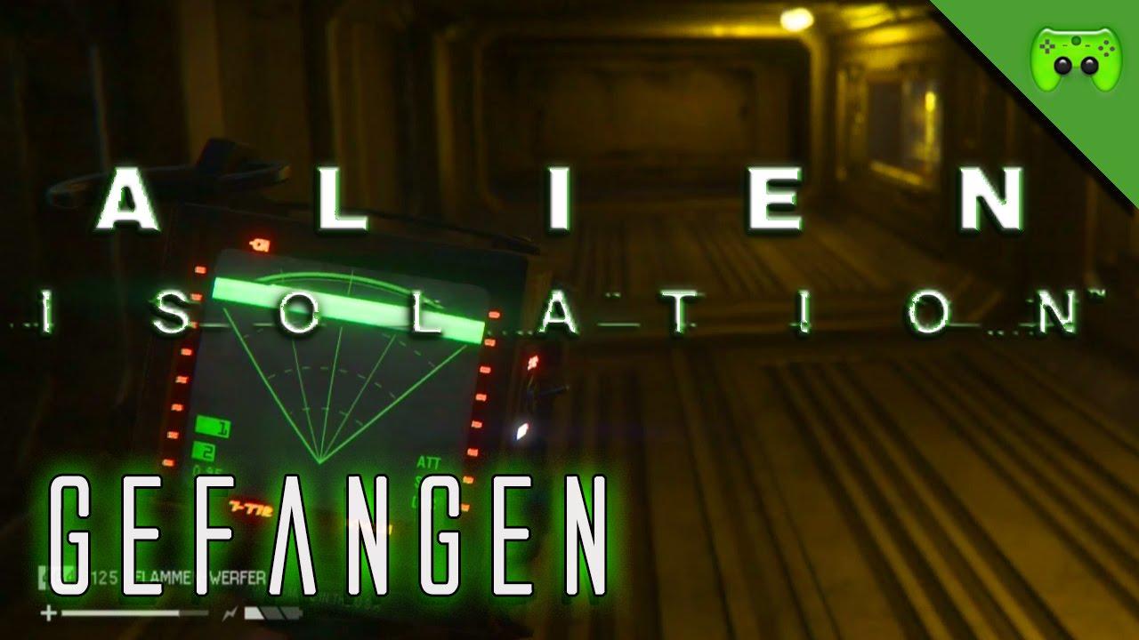 alien isolation 22 gefangen let 39 s play alien. Black Bedroom Furniture Sets. Home Design Ideas