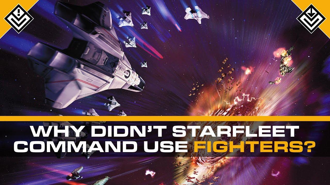 Why Didn't Starfleet Command Use Starfighters? | Star Trek
