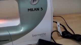 видео Швейная машина Bernette Sew Pink