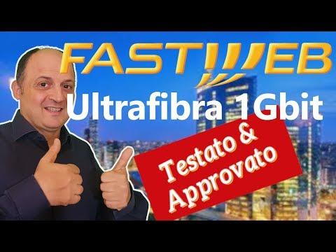 📌 Recensione Linea Ultra Fibra di Fastweb Speed test e coperture banda FTTH