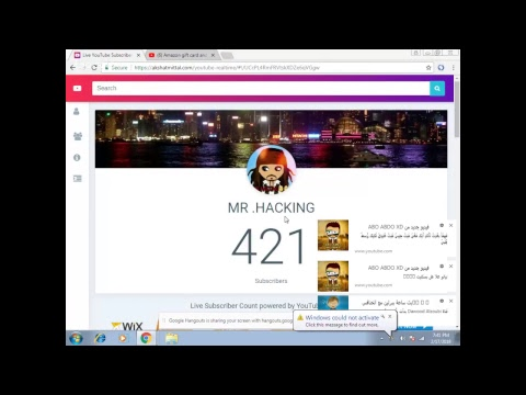Amazon gift card and account 100m give away 500subs
