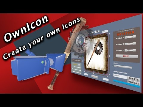 UE4 Icon Creator | V3.1 | Tutorial | OwnIcon - Create your own Icons | 100% Blueprint