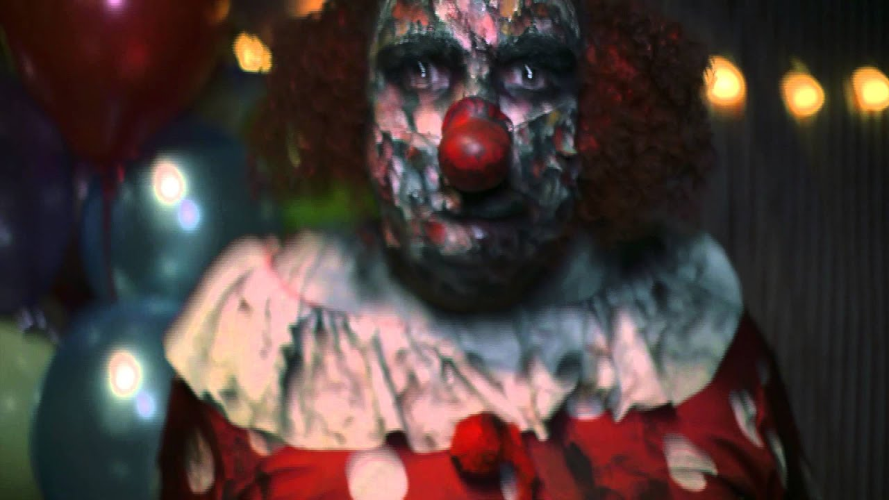 FRIGHT NIGHTS 2015 - The clown - YouTube