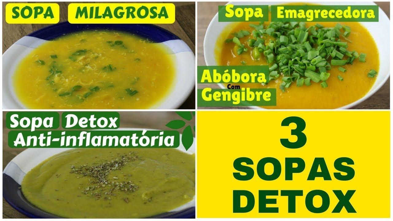 sopa detox de abobora